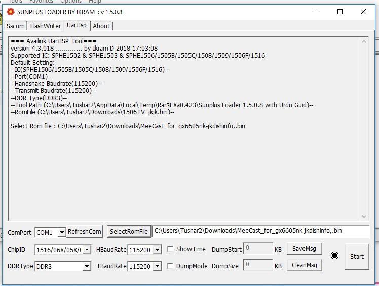 Sunplus Loader 1506t Loader v1 5 1 9/ v1 5 0 8 – JK Dish Info